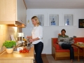 Küche u. Esszimmer